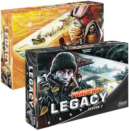 Pandemic Legacy Season 2 (Black Ed) (OBS! VIKTIGT ATT FÖRBOKA!)