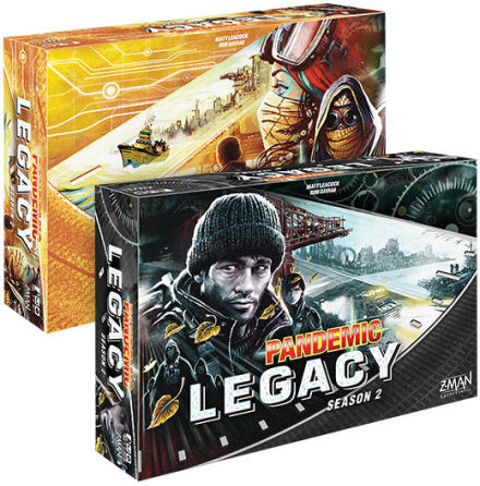 Pandemic Legacy Season 2 (Black Ed)