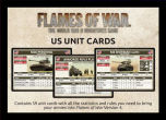 LATE WAR US Unit Cards