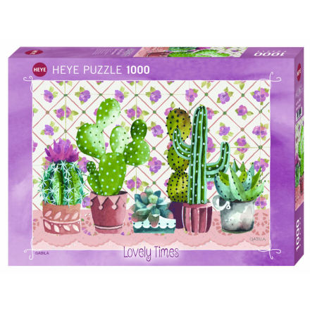 Cactus Family (1000 pieces)