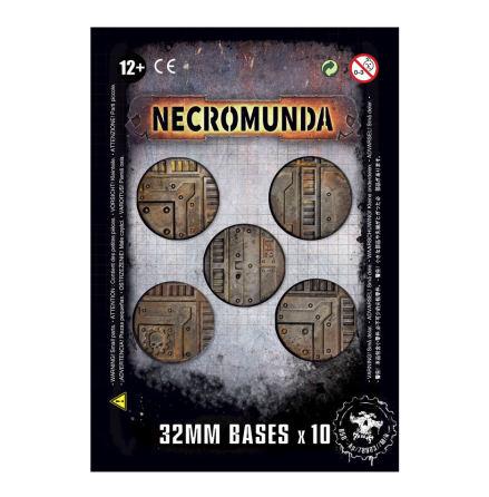 NECROMUNDA 32MM BASES