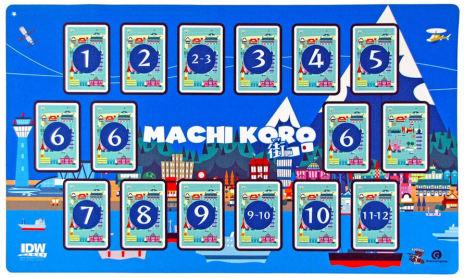 Machi Koro Deluxe Game Mat