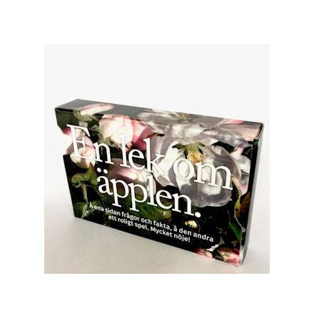 En lek om äpplen - 110 frågor, fakta och ett spel med bilder