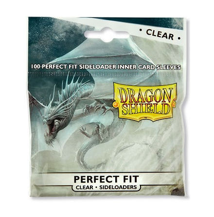 Dragon Shield Perfect Fit SIDELOADERS - CLEAR