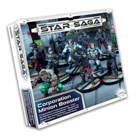 Star Saga Corporation Minion Booster