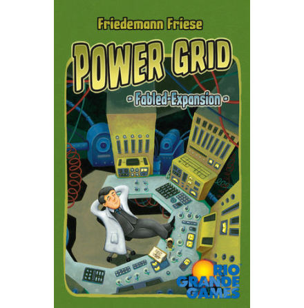 Power Grid Fabled Cards