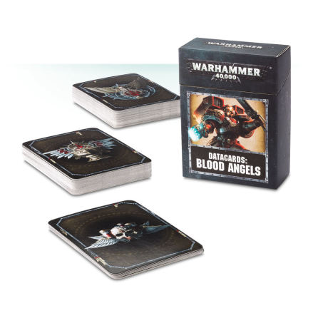 DATACARDS: BLOOD ANGELS (ENG) (8th ed)