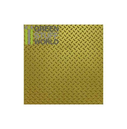ABS Plasticard - Thread DIAMOND Textured Sheet - A4