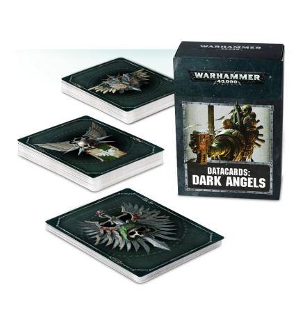 DATACARDS: DARK ANGELS (ENG 2018 8th ed)