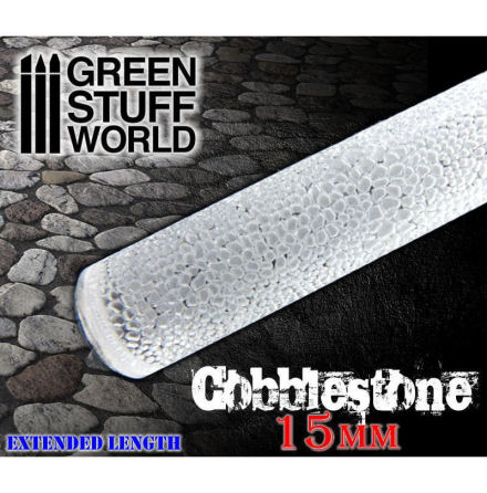 Rolling Pin Cobblestone 15mm