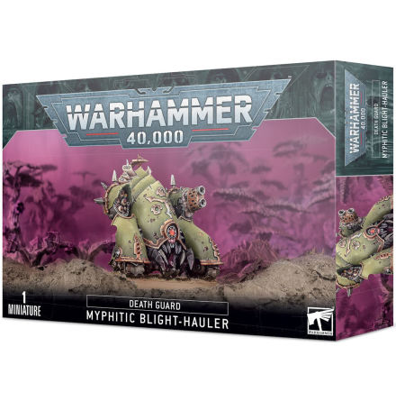 Easy-to-build DEATH GUARD MYPHITIC BLIGHT-HAULER