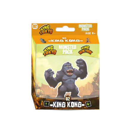 King of Tokyo Monster Pack 2 King Kong