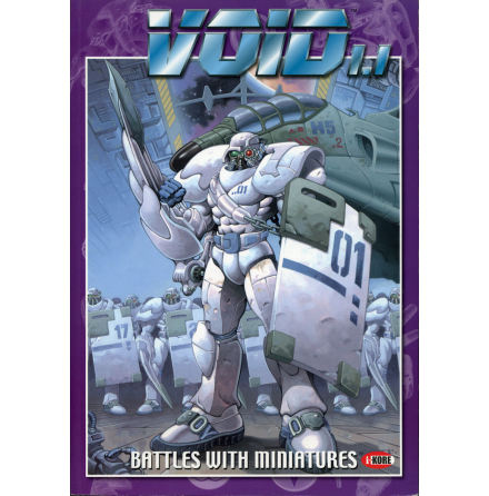 VOID RULEBOOK 1.0 - Battles with miniatures