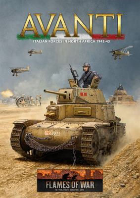 Avanti (Mid War Italian Hardback Book)
