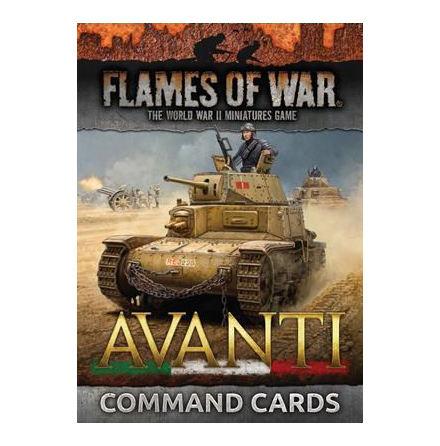 Italian Comand Cards