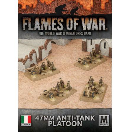 Italian AT Gun Platoon (Plastic x4 47/32)