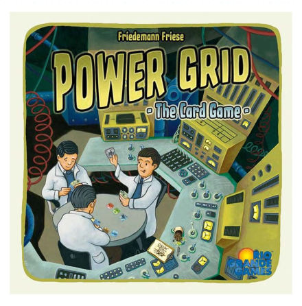 Power Grid Card Game (Ej ännu släppt)