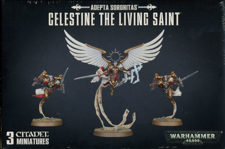 ADEPTA SORORITAS CELESTINE THE LIVING SAINT