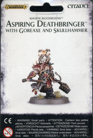 ASPIRING DEATHBRINGER WITH GOREAXE AND SKULLHAMMER (2016)