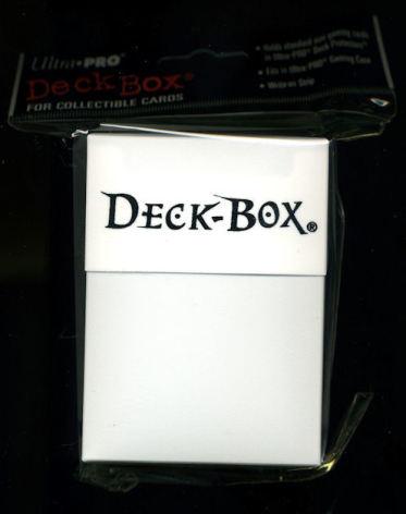 Deck Box White