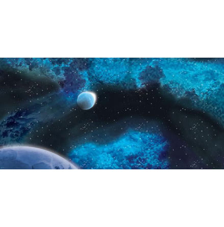 Gaming Mat: Frozen Star System