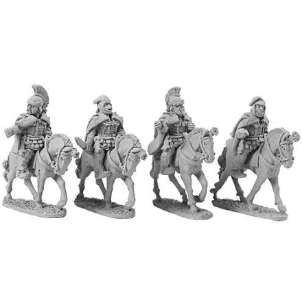 Persian Mounted Generals (4)