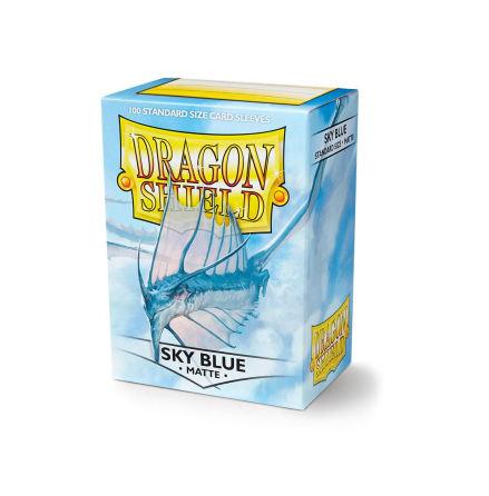 Dragon Shield Matte Sleeves - Sky Blue (100 ct. in box)