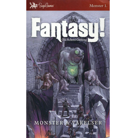 Fantasy! Old School Gaming: Monster & Varelser