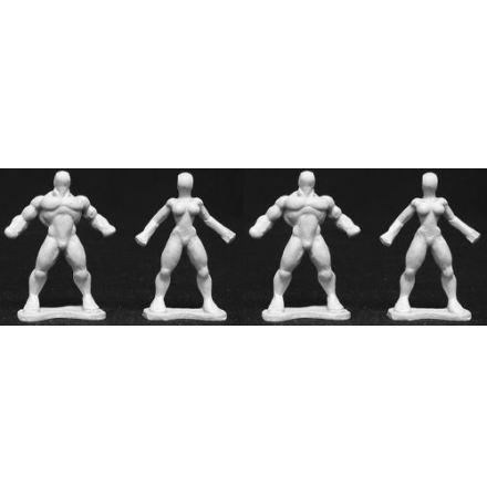 Reaper Heroic Sculpting Blanks (4)