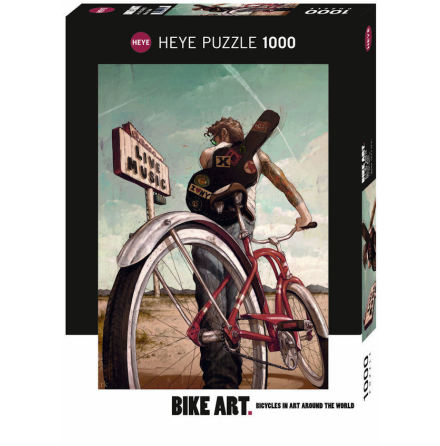 Bike Art: Music Ride (1000 pieces)