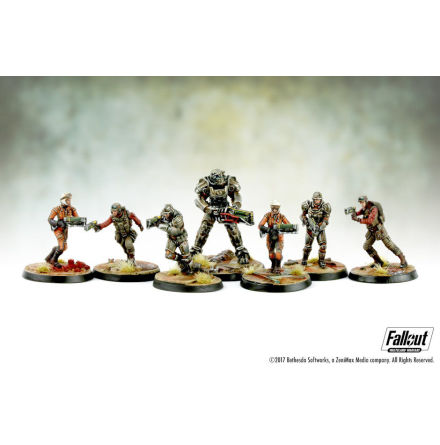 Fallout Wasteland Warfare BoS Brotherhood of Steel