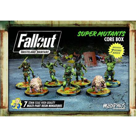 Fallout Wasteland Warfare SM Super Mutants Core