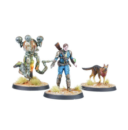 Fallout Wasteland Warfare Survivors Heroes of Sanctuary