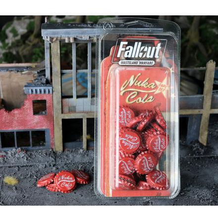 Fallout Wasteland Warfare Nuka Cola Caps Set
