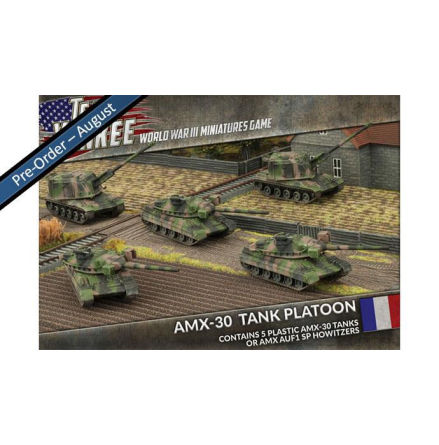 French AMX-30 Tank Platoon