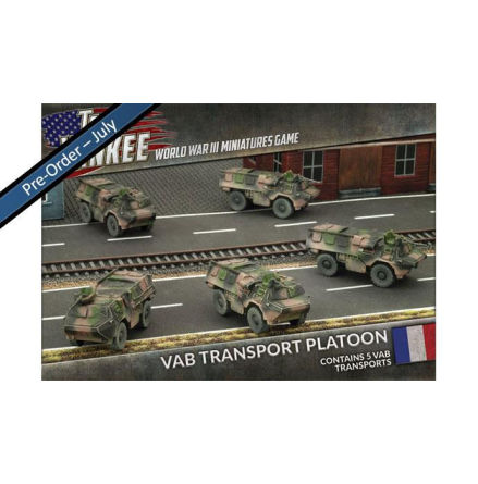 French VAB Transport Platoon