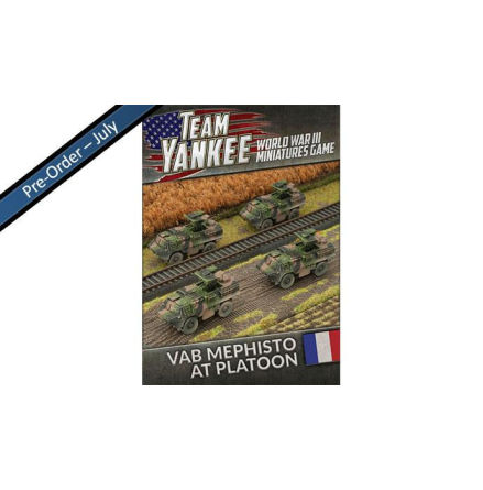 French VAB Mephisto Anti Tank Platoon