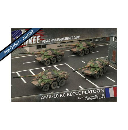 French AMX-10 RC Recce Platoon