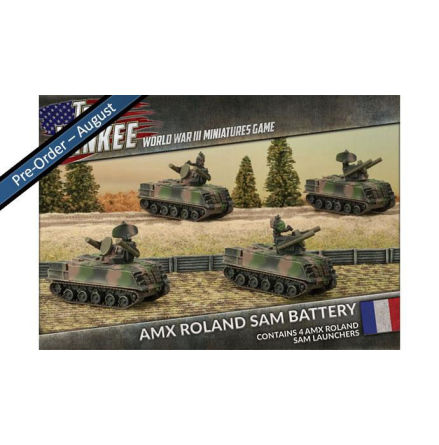 French AMX Roland SAM Battery