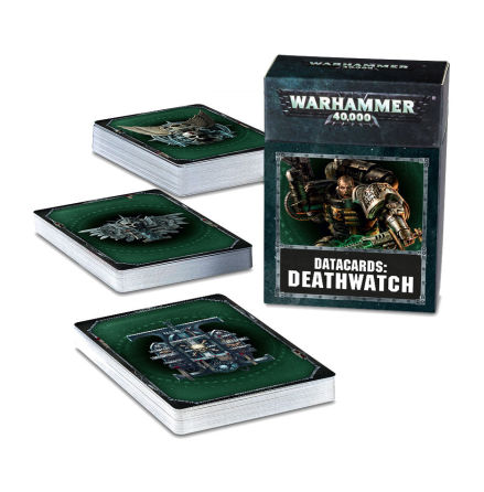 DATACARDS: DEATHWATCH (ENG 2018 8th ed)