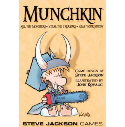 MUNCHKIN 1 - THE ORIGINAL CARD GAME (Grundspel 168 kort)