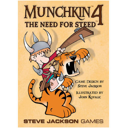 MUNCHKIN 4 - NEED FOR STEED