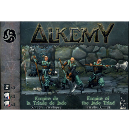 Alkemy Jade Triad Empire: Triadic Guards (3)