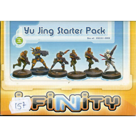 Starter Pack Yu Jing (NEW VERSION box with 6 miniatures.)