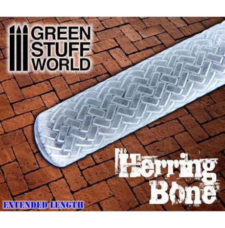 Rolling Pin Herringbone