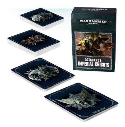DATACARDS: IMPERIAL KNIGHTS (ENG, 8th ed)