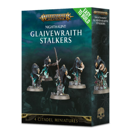 Easy-To-Build NIGHTHAUNT GLAIVEWRAITH STALKERS