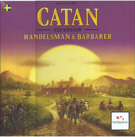 Catan 5th ed Handelsmän & Barbarer SE