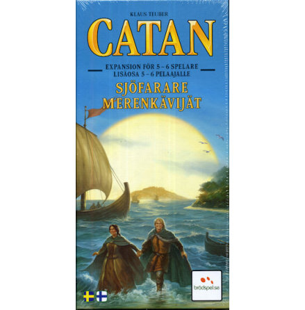 Catan 5th ed Sjöfarare 5-6 Player (Svensk)