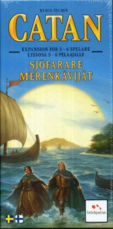 Catan 5th ed Sjöfarare 5-6 Player (Svensk)